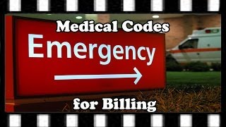 Medical Codes for Billing — Emergency Department E and M Coding