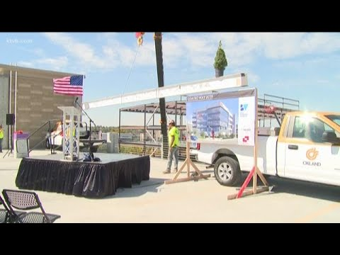 'Topping off' ceremony held for major downtown Boise construction project