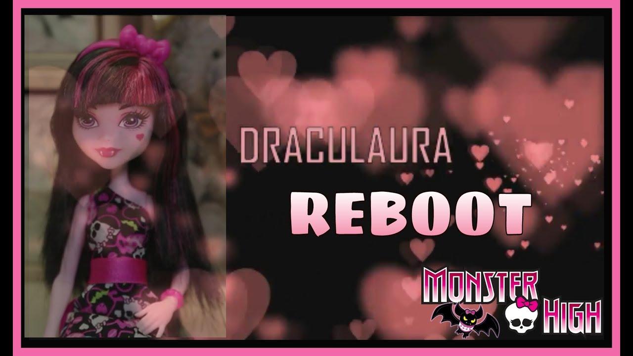 Обзор  DRACULAURA / New Reboot Basic doll/ Сравнение старых и новых выпусков Дракулауры