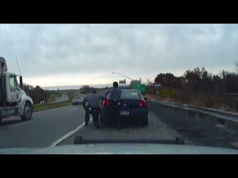 Dashcam video of Route 33 shootout shows how quickly police work can turn deadly