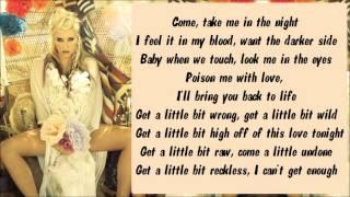 Ke$ha - Supernatural Karaoke / Instrumental with lyrics on screen