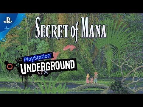 Secret of Mana PS4 Gameplay | PlayStation Underground