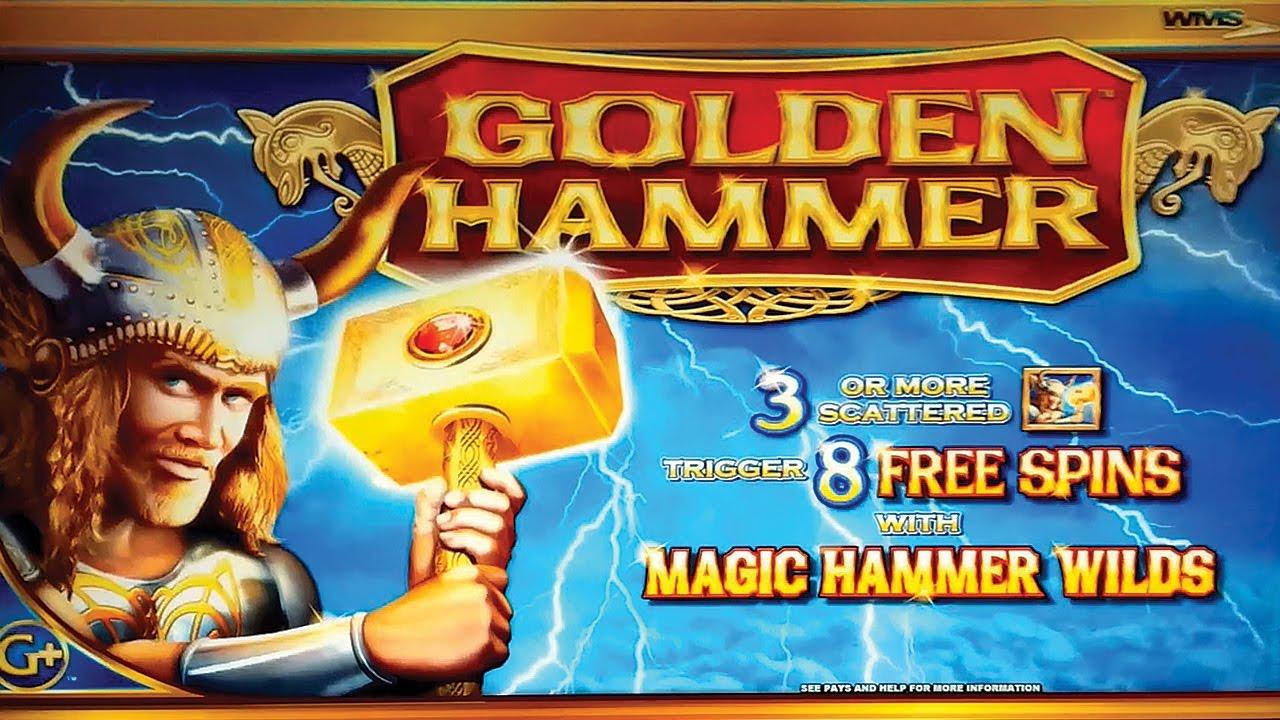 Golden hammer slot machine jackpots