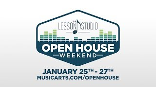 Lesson Studio Open House at Music & Arts