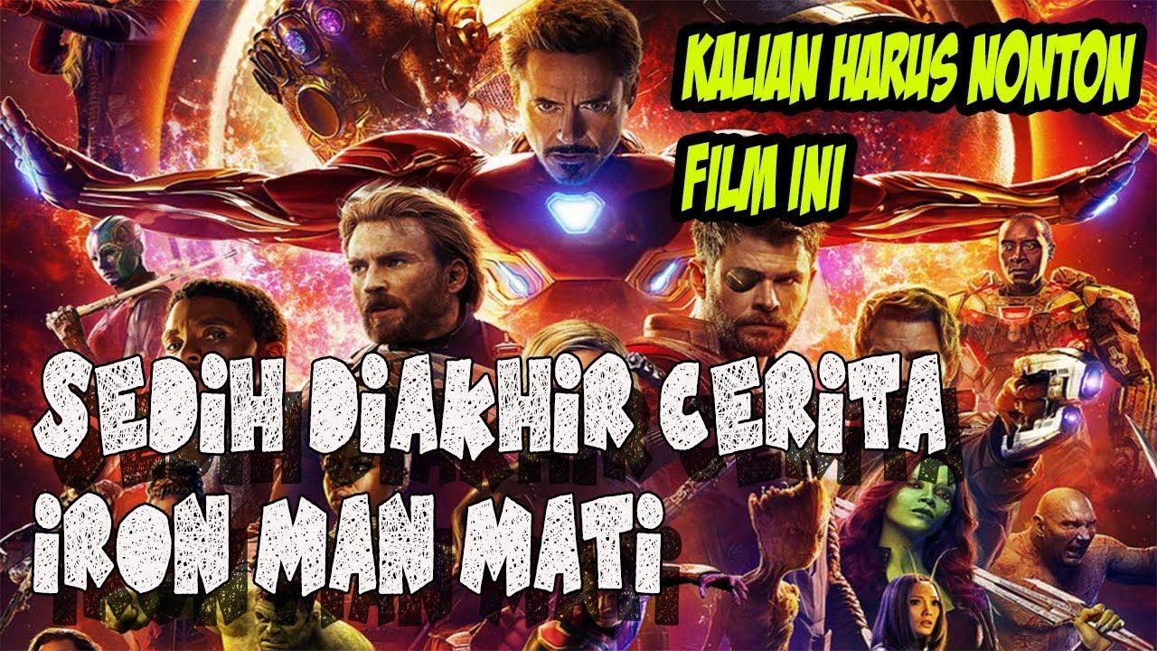 nonton avengers end game..iron man mati???kalian harus nonton film ini