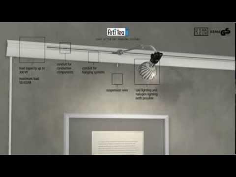 Installazione Binari con illuminazione - YouTube
