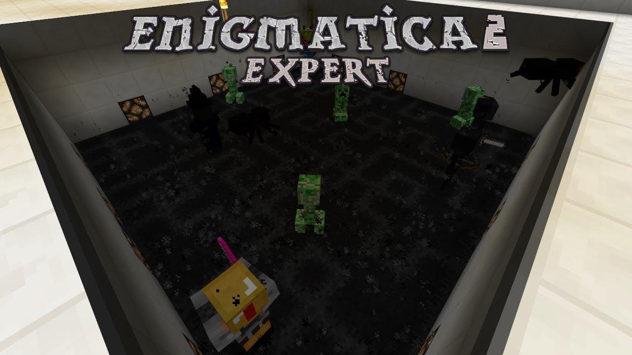 Enigmatica 2 Expert - CURSED EARTH MOB FARMING [E25] (Modded Minecraft)