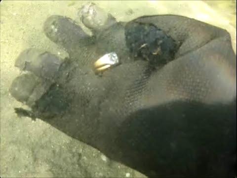 Underwater treasure hunting  finds