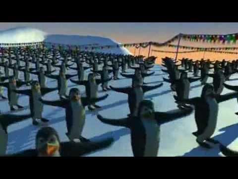 Мультфильм танец пингвинов