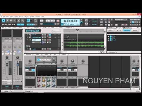 Huong dan su dung Sonar Producer X3 Part 4