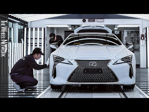 The Lexus Motomachi Plant – Lexus LC Production