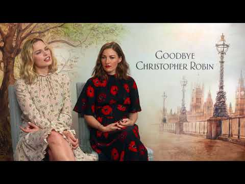 Goodbye Christopher Robin  || Margot Robbie & Kelly Macdonald Interview || SocialNews.XYZ