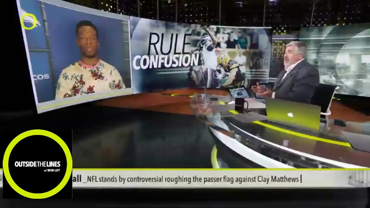 huge selection of 52c46 0827f Broncos LB Brandon Marshall talks NFL roughing-the-passer confusion    Outside The Lines   ESPN