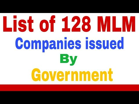 """128 MLM    """"Issues by Indian government 128 MLM company's BP Tech"""