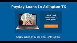 Payday Loans Arlington, TX | Online Cash Advance