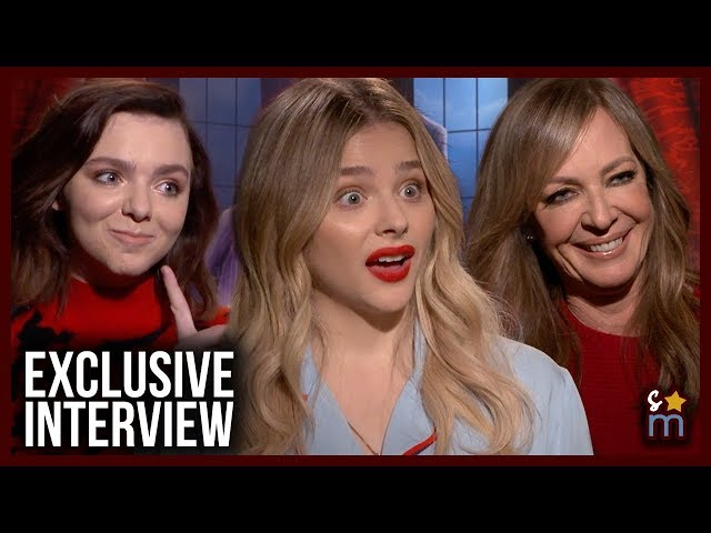 THE ADDAMS FAMILY Cast On Being Voice Recognized & Teen Rebellion - Moretz, Fisher & Janney