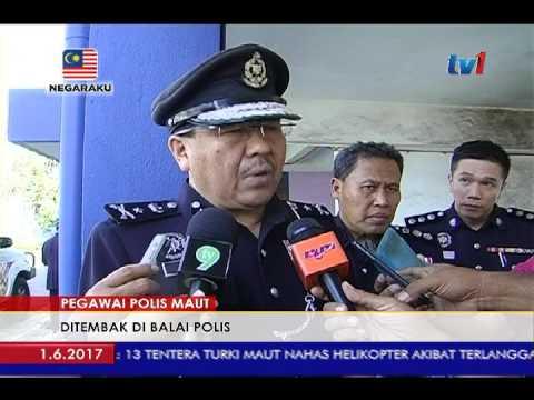 PEGAWAI POLIS BERPANGKAT INSPEKTOR MATI DITEMBAK DI IPD PASIR PUTEH [1 JUN 2017] #1