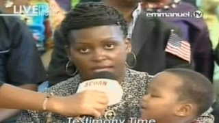 SCOAN 03/05/15: Ectopic Pregnancy Solutions? Woman Healed Of Ectopic Pregnancy. Emmanuel TV