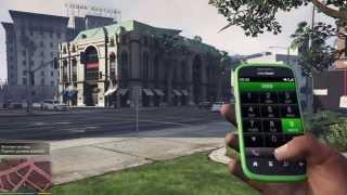 Чит-коды на телефон в Grand Theft Auto V