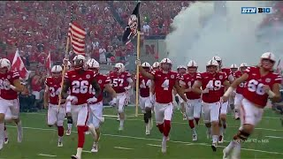 Nebraska's Tunnel Walk 2017 vs. Arkansas State