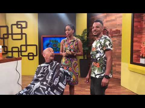 Neville's New Hair Cut (TVJ Smile Jamaica) - July 13 2018