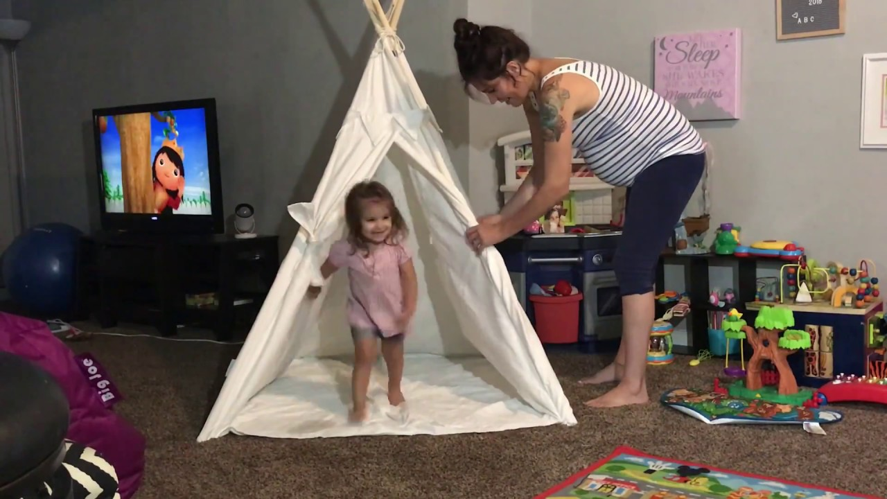 low priced f7430 fe539 Product Review: Canicove Teepee Tent for Kids