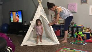 Product Review: Canicove Teepee Tent for Kids
