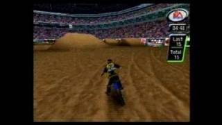 Supercross 2000 Nintendo 64 Gameplay_1999_11_22