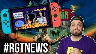 Switch NES Online Games BIG Glitch?  - Castlevania Returns?   RGT 85