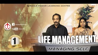 [Life Management & Well Being] Managing Self - Rev Paul D Dawson
