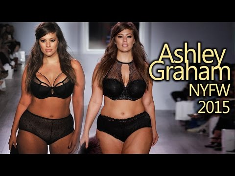 Download Ashley Graham Modelo CURVY MODEL at NYFW 2015 (American, 1987) [Videos + Pics]