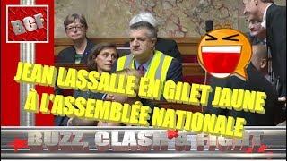 Gilets jaunes, Jean Lassalle, embrouille à l'Assemblée nationale