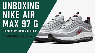 Nike Golf: Unboxing the Air Max 97 G 'Le Silver' + 'Silver Bullet'