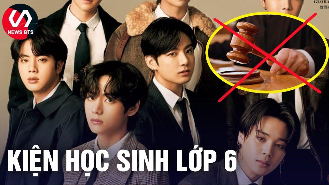 BigHit Khởi Kiện học sinh lớp 6 vì có hành vi xúc phạm BTS