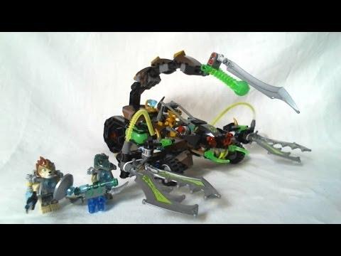 LEGO Legends of Chima Video Review : Scorm's Scorpion Stinger [Français]