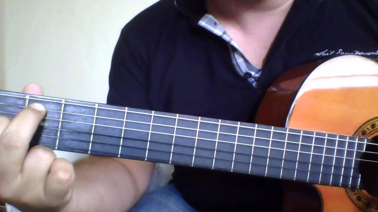 e7 akoru gitar üzerinde nerede
