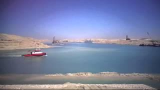 قناة السويس الجديدة القطاع الاوسط مشهد عام 23مارس 2015