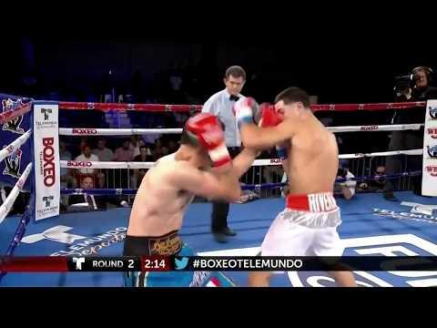 Jean Carlos Rivera vs  Juan Carlos Benavides Fight