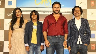 Chef Movie Trailer Launch Full Video HD | Saif Ali Khna, Padmapriya