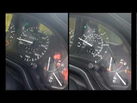 Honda CRX Del Sol B20 Vtec Conversion vs B16 Civic CRX Vti comparison