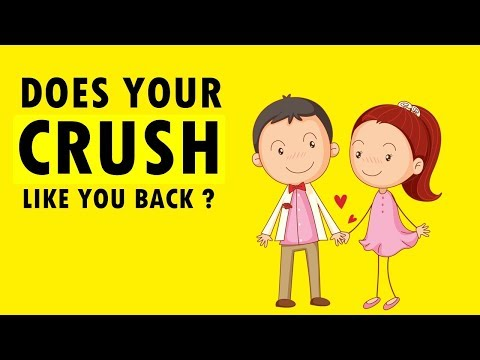 Does Your Crush Secretly Like You ? Personality Test