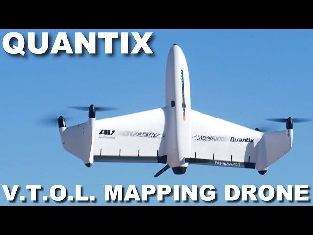 AeroVironment Quantix: Autonomous VTOL Mapping Drone