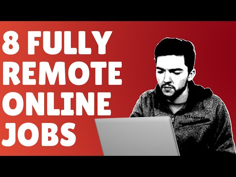 8 Fully Remote Online Jobs Hiring Right Now for 2020