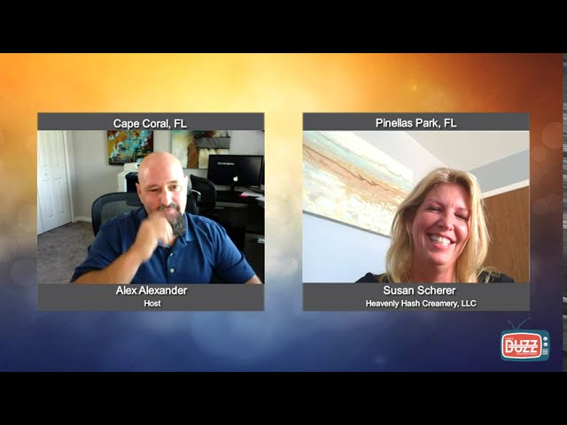 Buzz on Veterans with Susan Scherer from Heavenly Hash Creamery, LLC