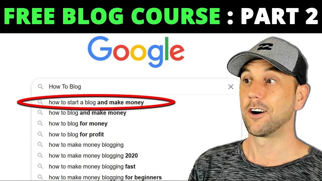 FREE How To Blog & Drive M****ive Traffic Course - Part 2