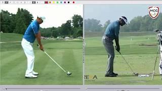 Swing de golf: Etes-vous un joueur associé ou dissocie (point mobile bas ou haut)