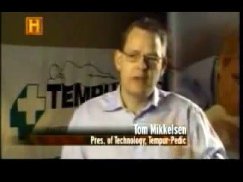 Cómo se hace colchones Tempur, Canal Historia - YouTube