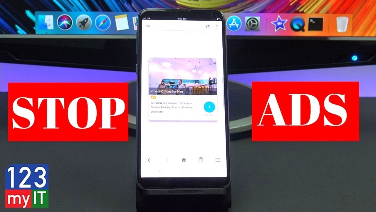 How to stop ads from popping up on my phone