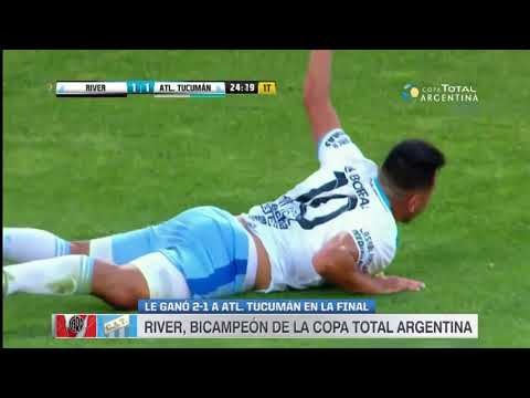 RIVER CAMPEON - RIver Plate vs Atletico De Tucuman - Copa Argentina 2017 - Resumen Extendido HD