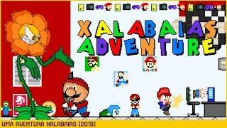 Xalabaias Adventure (Bad Ending) • Super Mario World ROM Hack (2019)